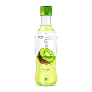 400ml_Pet_bottle_Kiwi_Flavor_Sparkling_Drink