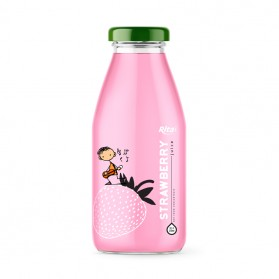 Strawberry_250ml_Glass_Bottle